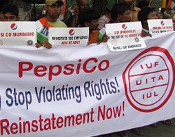 PepsiCo workers fired